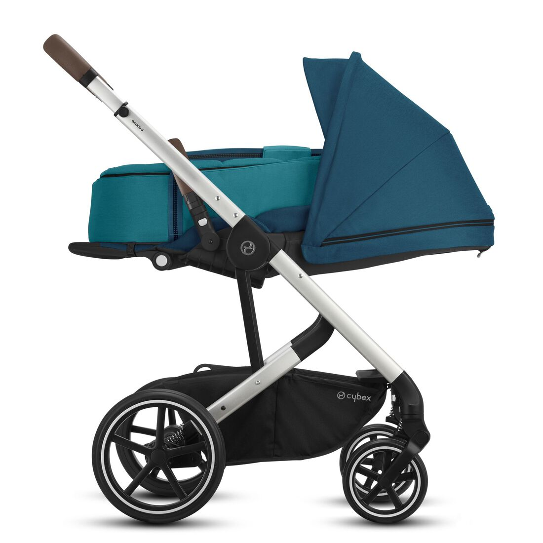 CYBEX Balios S Lux - River Blue (Silver Frame) in River Blue (Silver Frame) large image number 4