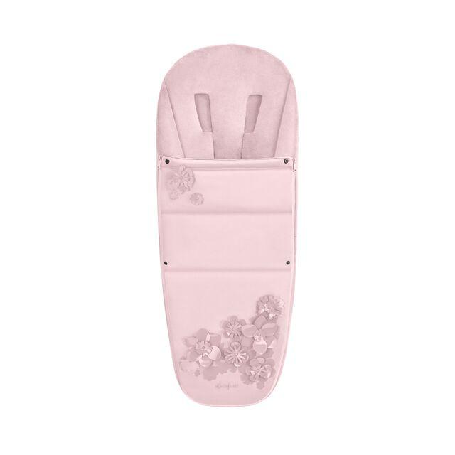 Platinum Fußsack - Simply Flowers Pink