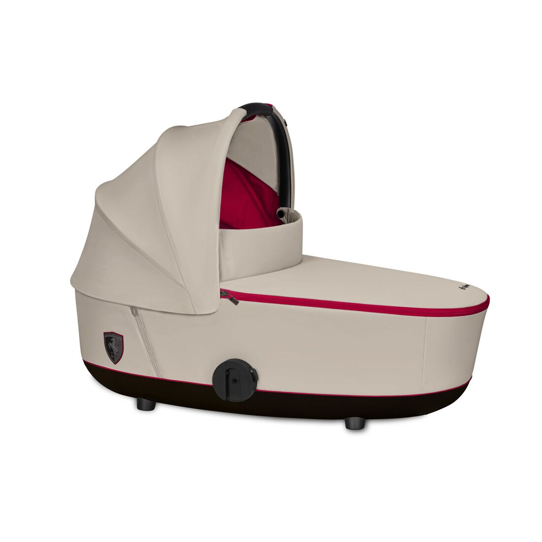 CYBEX Mios Lux Carry Cot - Ferrari Silver Grey in Ferrari Silver Grey large image number 1