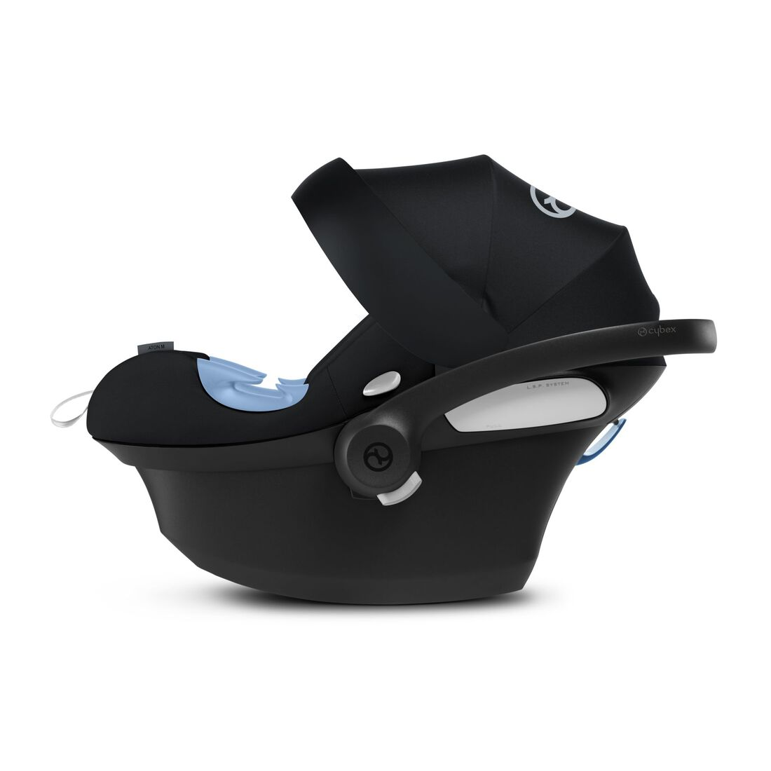 CYBEX Aton M i-Size - Deep Black in Deep Black large image number 4