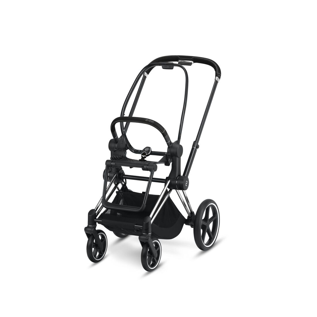 CYBEX Priam Frame - Chrome With Black Details in Chrome With Black Details large image number 1