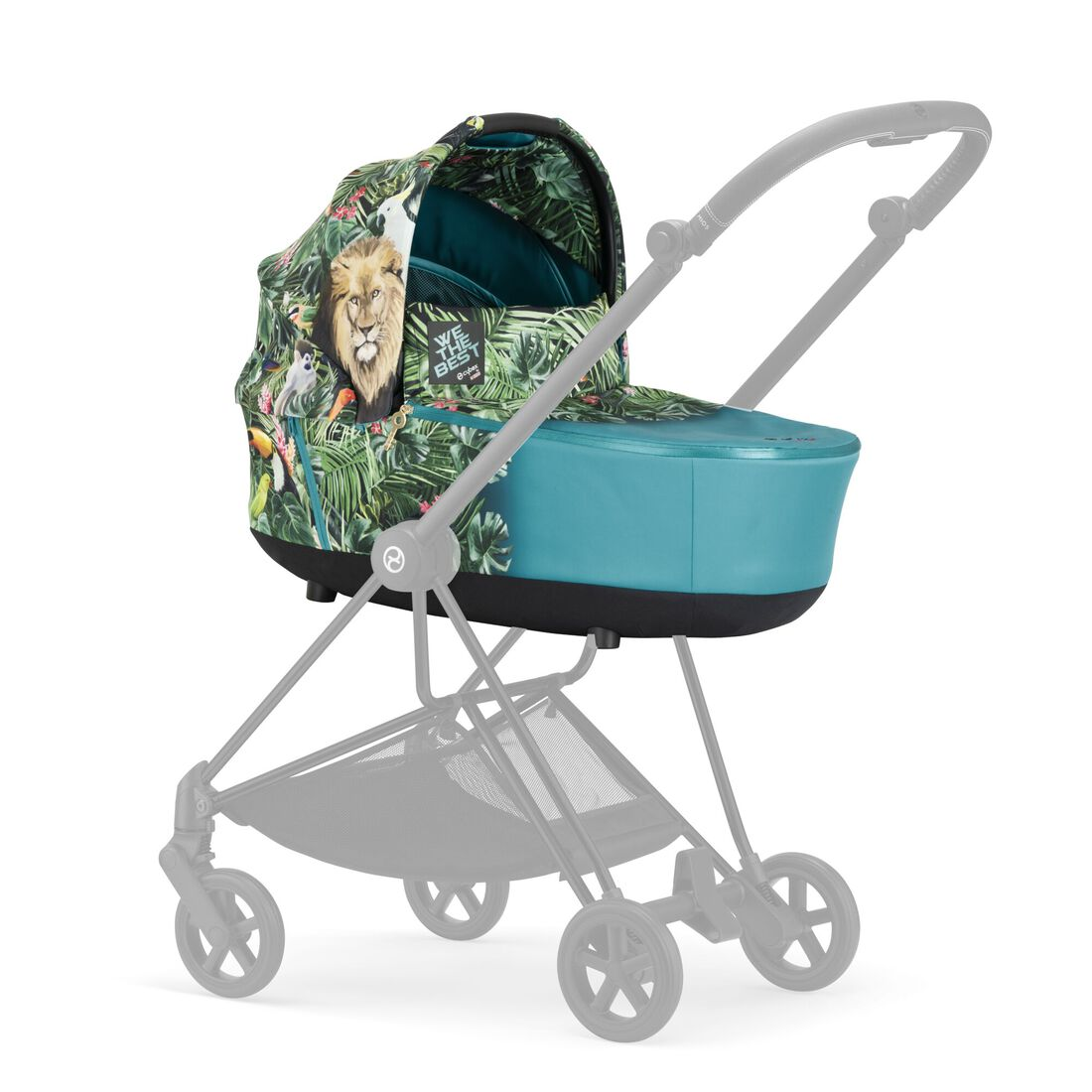 CYBEX Mios Lux Carry Cot - We The Best in We The Best large image number 4