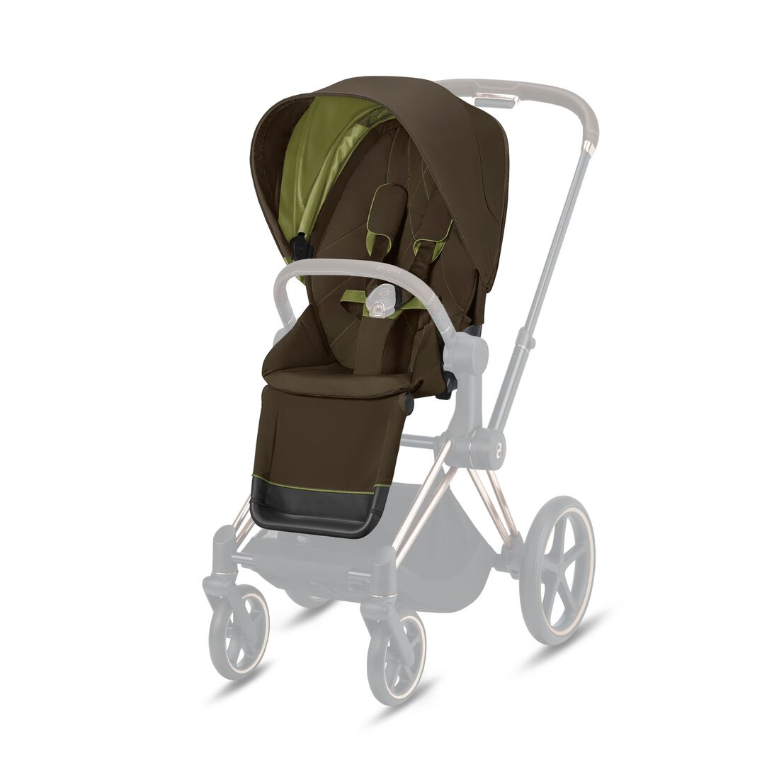CYBEX Priam Seat Pack - Khaki Green in Khaki Green large image number 1