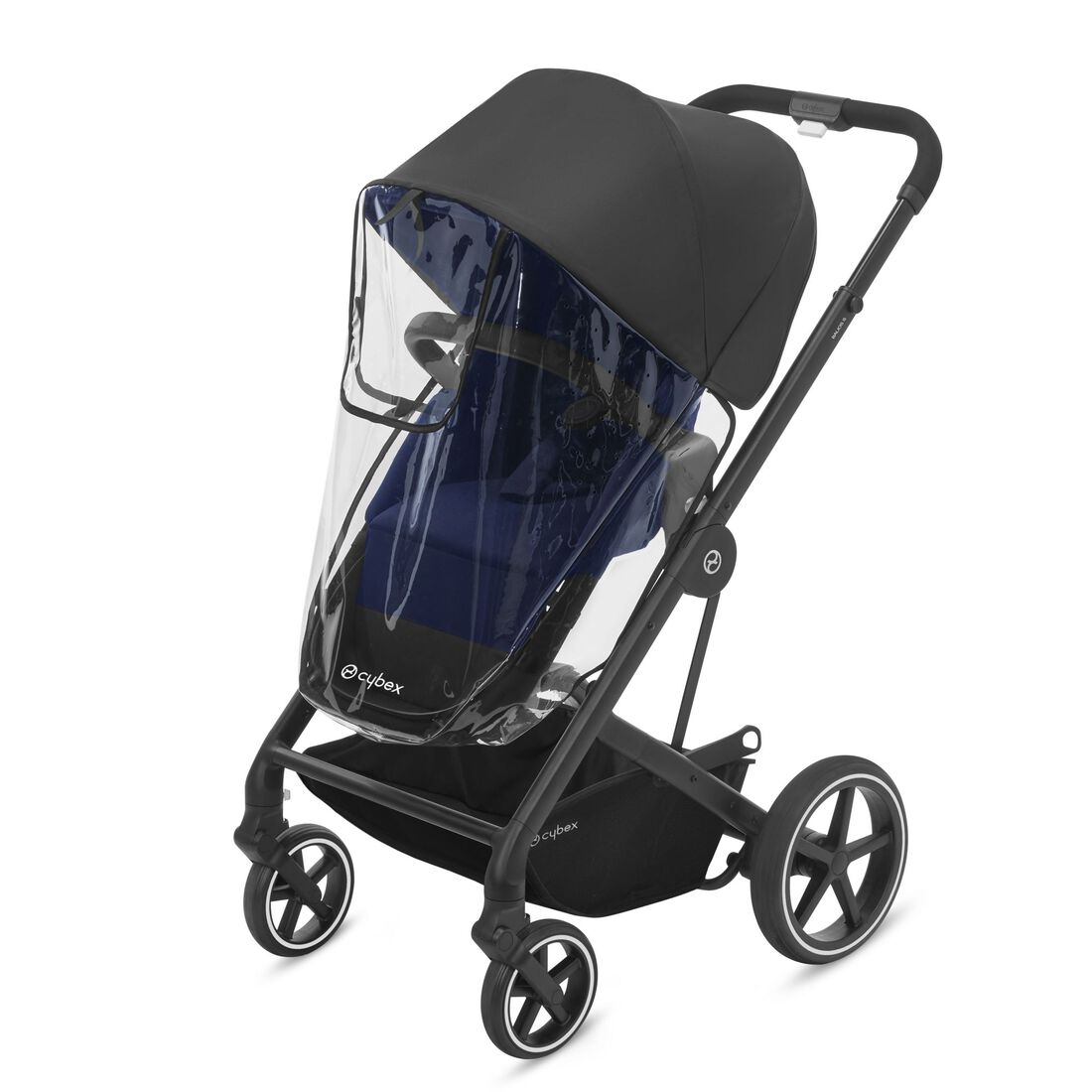 CYBEX Rain Cover Balios S 2-in-1/Talos S 2-in-1 - Transparent in Transparent large image number 1