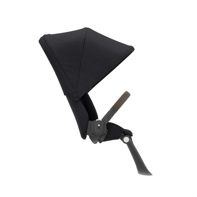 Gazelle S Seat Unit - Deep Black (Taupe Frame)