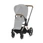 CYBEX e-Priam Frame - Rosegold in Rosegold large image number 2 Small