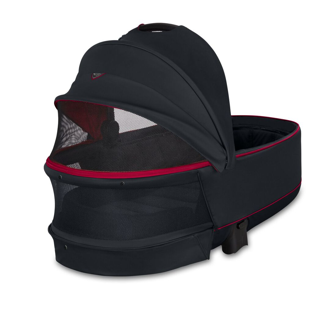 CYBEX Priam Lux Carry Cot - Ferrari Victory Black in Ferrari Victory Black large image number 3