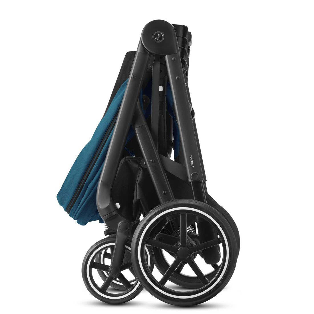 CYBEX Balios S Lux - River Blue (Black Frame) in River Blue (Black Frame) large image number 7
