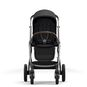CYBEX Gazelle S - Deep Black (Taupe Frame) in Deep Black (Taupe Frame) large image number 5 Small