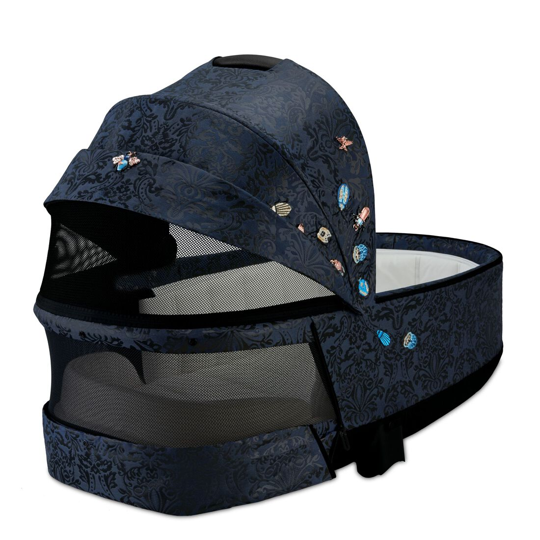 CYBEX Priam Lux Carry Cot - Jewels of Nature in Jewels of Nature large image number 3