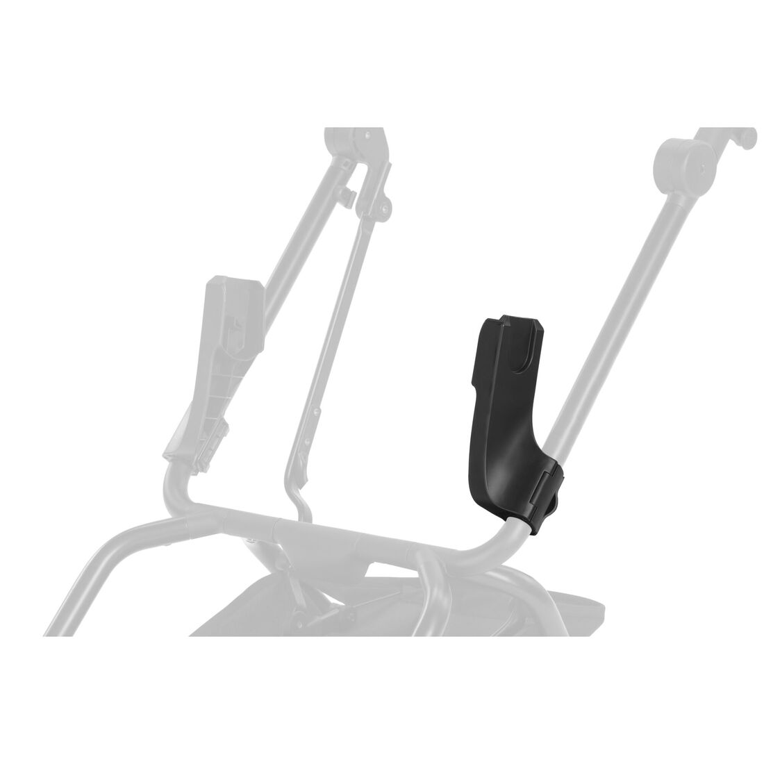 CYBEX Adapter Car Seat Eezy S Line - Black in Black large image number 2