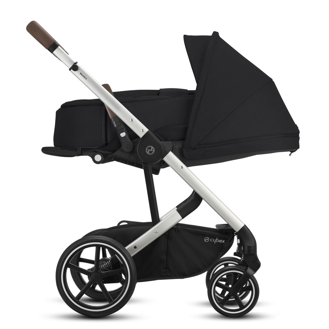 CYBEX Balios S Lux - Deep Black (Silver Frame) in Deep Black (Silver Frame) large image number 4