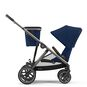CYBEX Gazelle S - Navy Blue (Taupe Frame) in Navy Blue (Taupe Frame) large image number 5 Small
