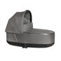 CYBEX Priam Lux Carry Cot - Manhattan Grey Plus in Manhattan Grey Plus large image number 1 Small