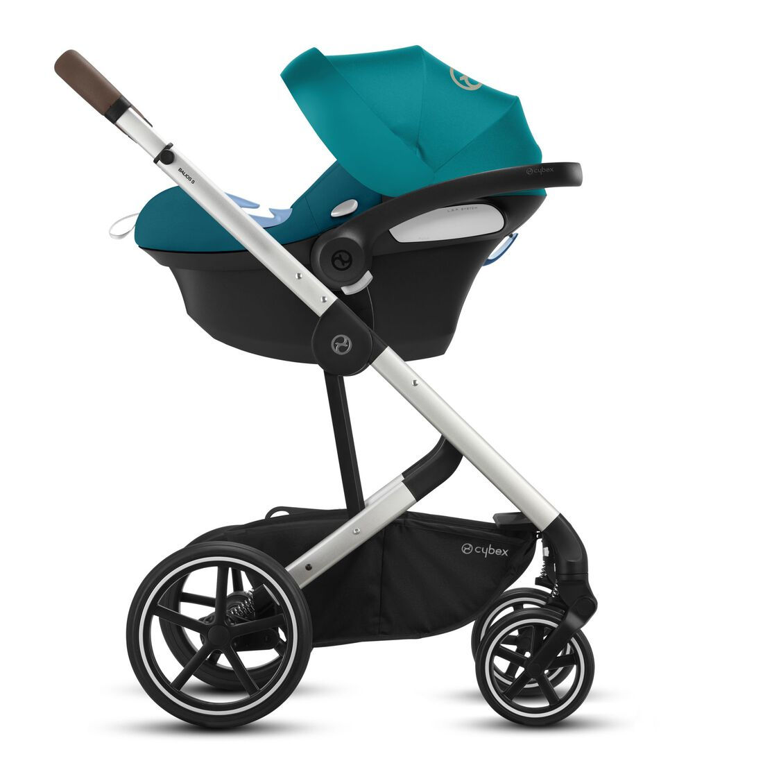 CYBEX Balios S Lux - River Blue (Silver Frame) in River Blue (Silver Frame) large image number 3