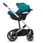 CYBEX Balios S Lux - River Blue (Silver Frame) in River Blue (Silver Frame) large image number 3 Small