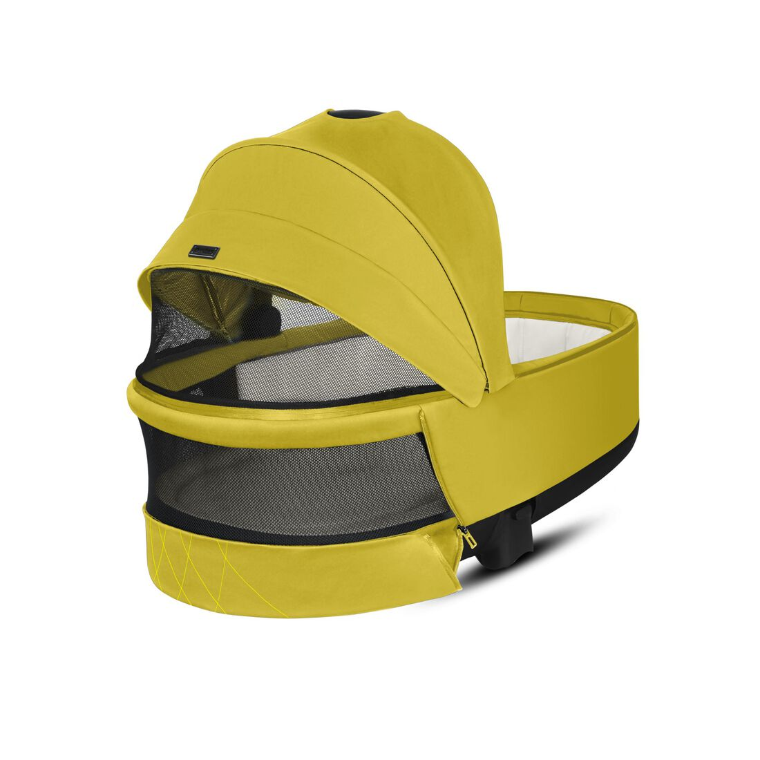 CYBEX Priam Lux Carry Cot - Mustard Yellow in Mustard Yellow large image number 4