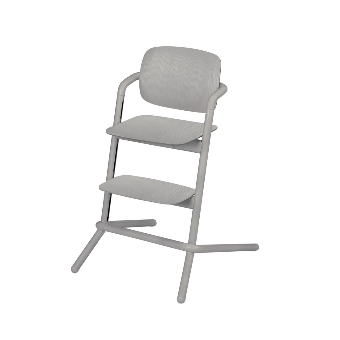 CYBEX Lemo Hochstuhl - Storm Grey (Wood) in Storm Grey (Wood) large Bild 1