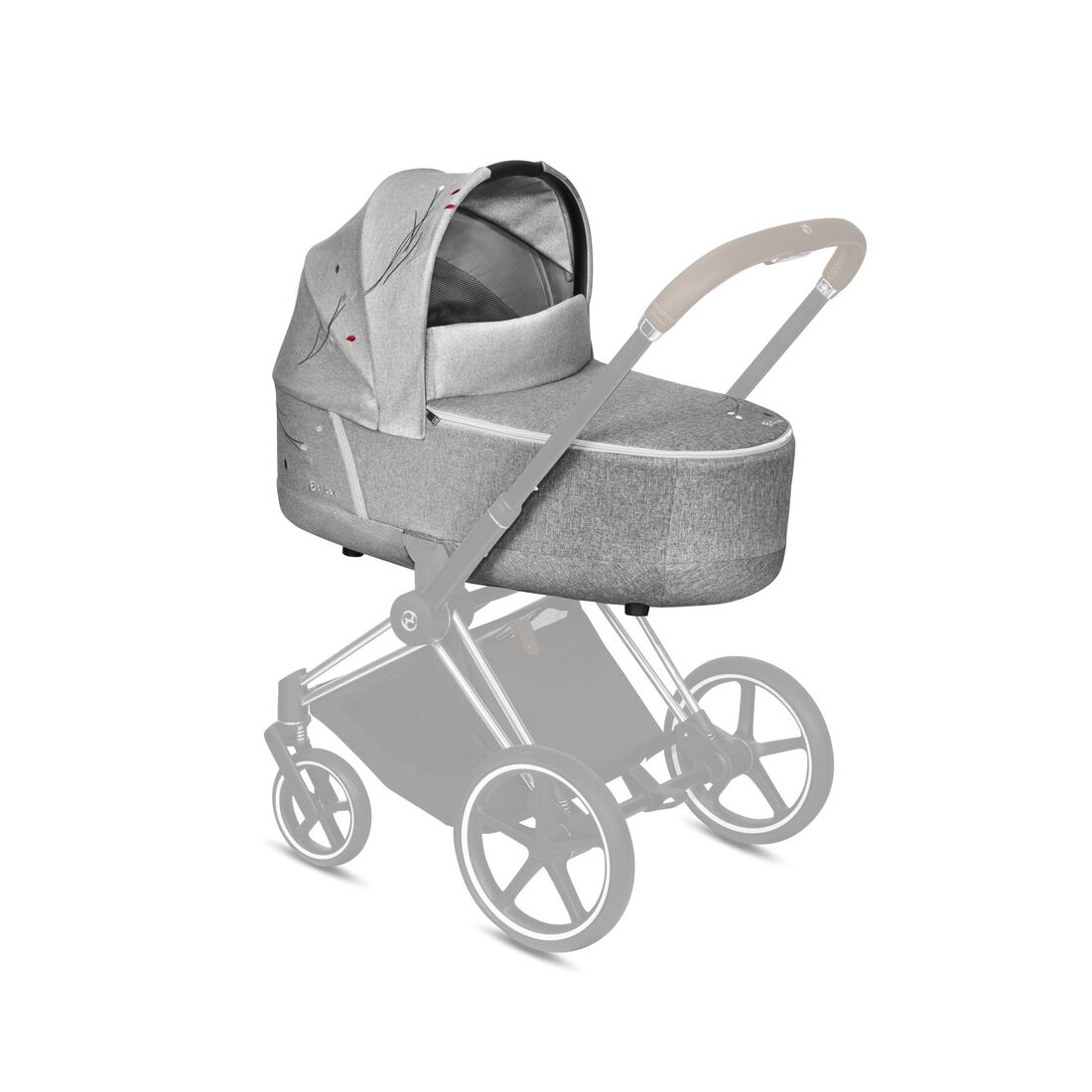 CYBEX Priam Lux Carry Cot - Koi in Koi large Bild 4