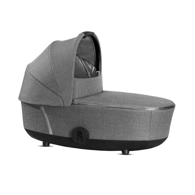 Mios Lux Carry Cot - Manhattan Grey Plus