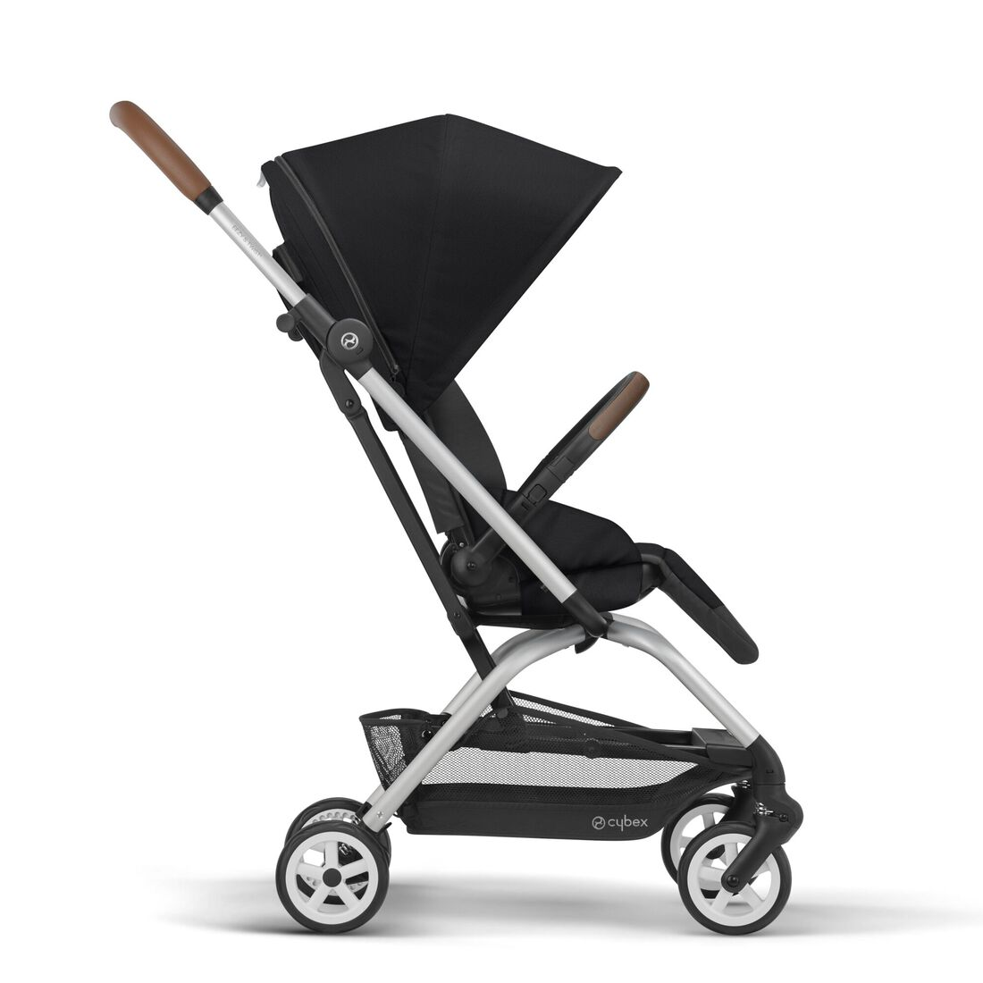 CYBEX Eezy S Twist 2 - Deep Black (Silberner Rahmen) in Deep Black (Silver Frame) large Bild 2