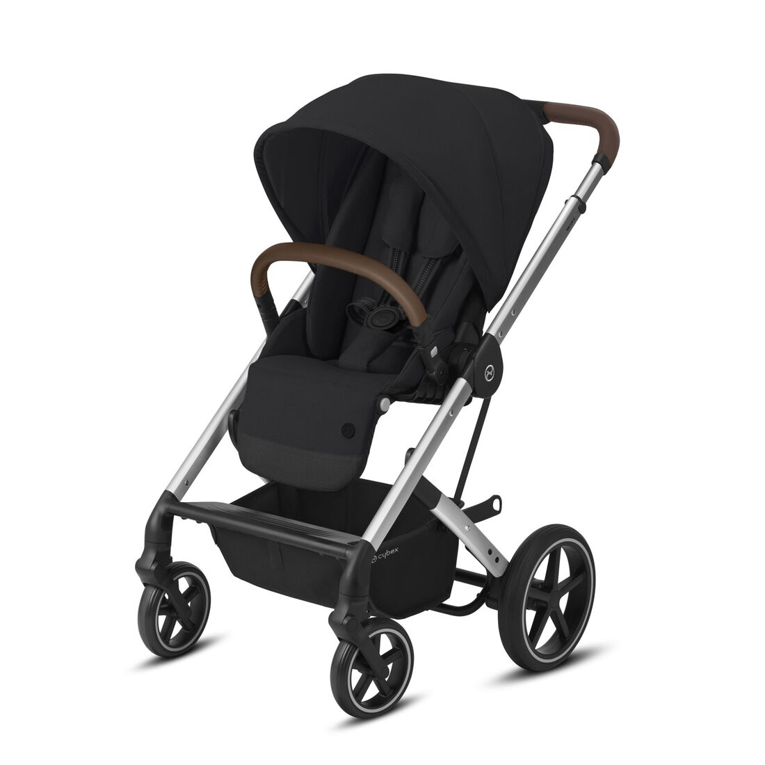 CYBEX Balios S Lux - Deep Black (Silver Frame) in Deep Black (Silver Frame) large image number 1
