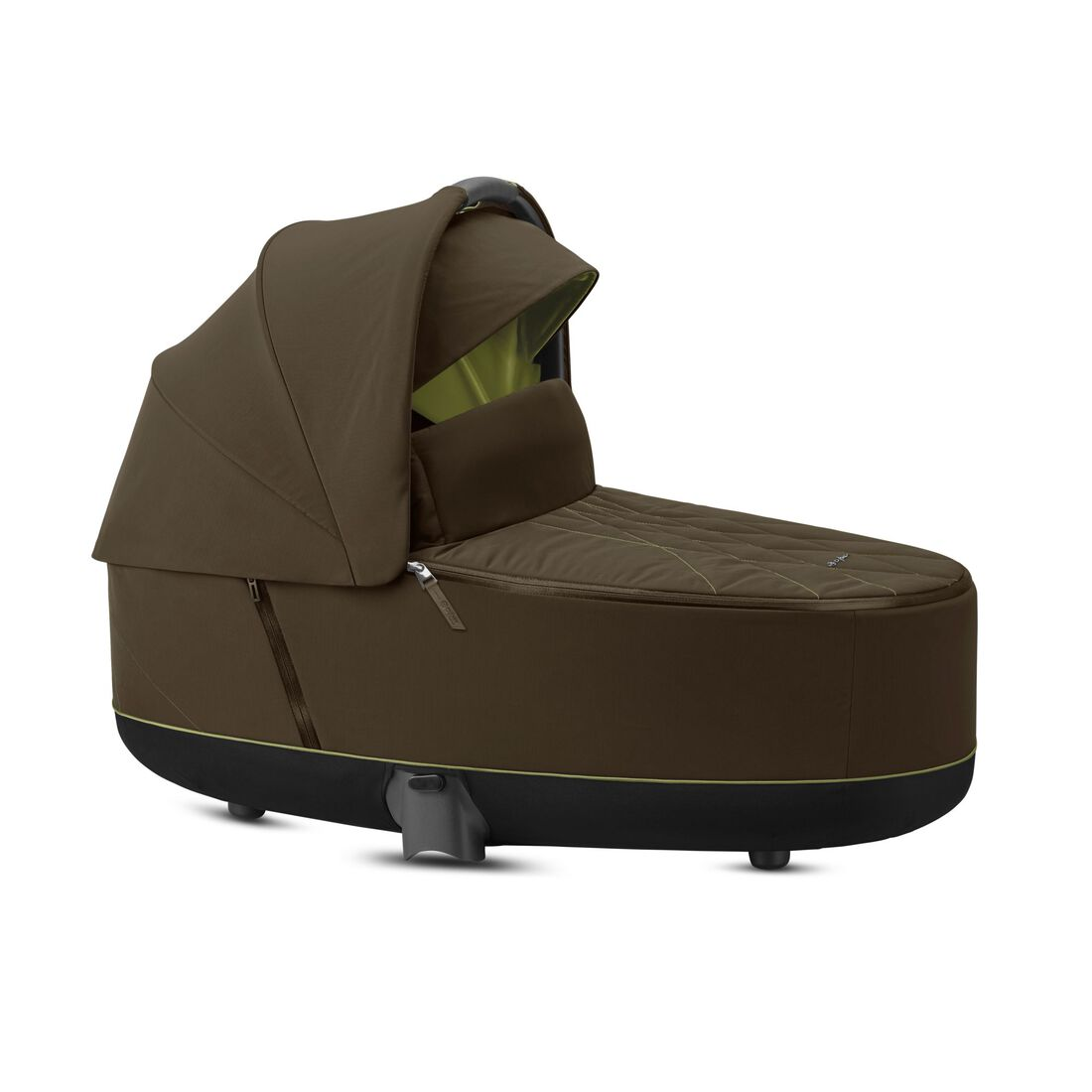 CYBEX Priam Lux Carry Cot - Khaki Green in Khaki Green large image number 2