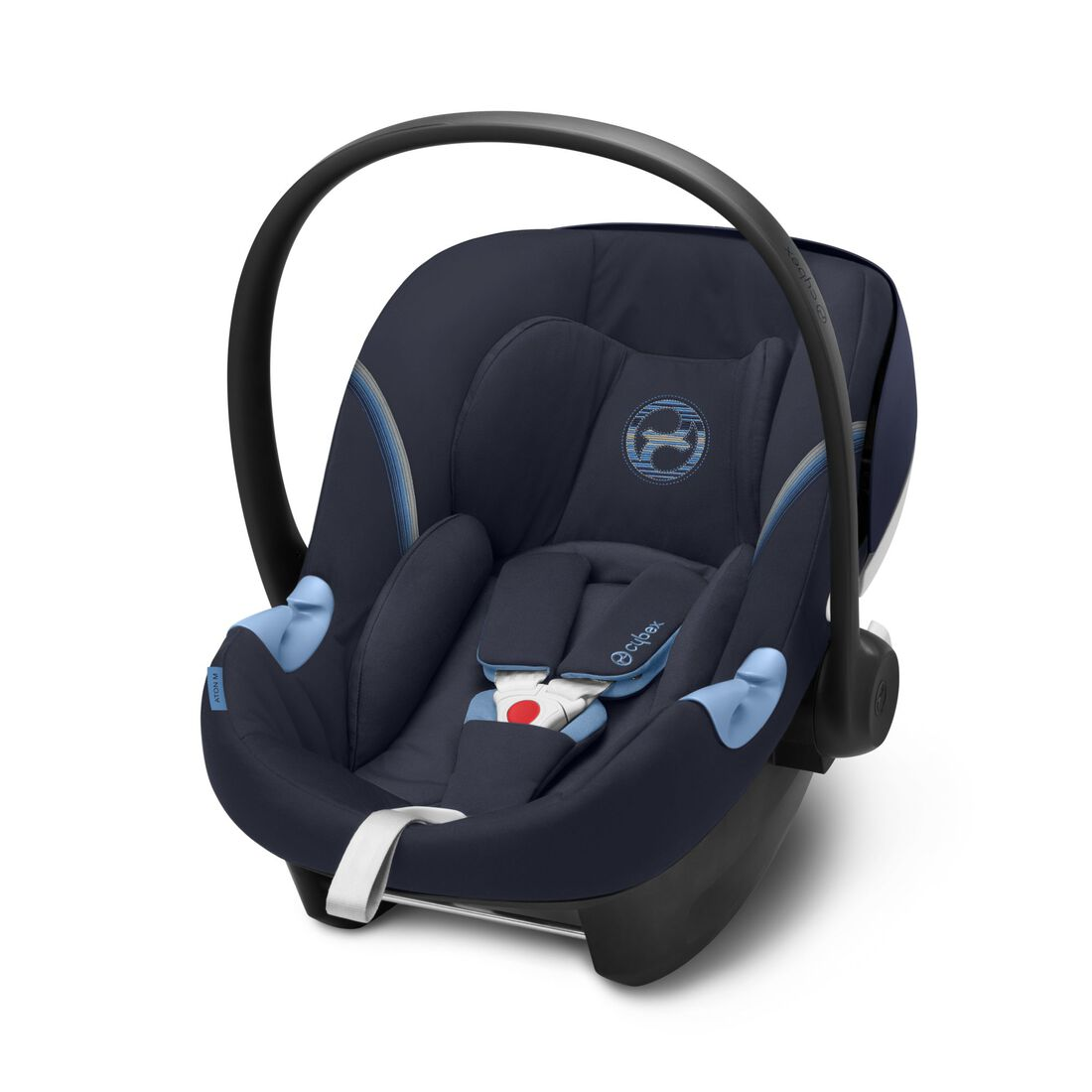 CYBEX Aton M i-Size - Navy Blue in Navy Blue large image number 1