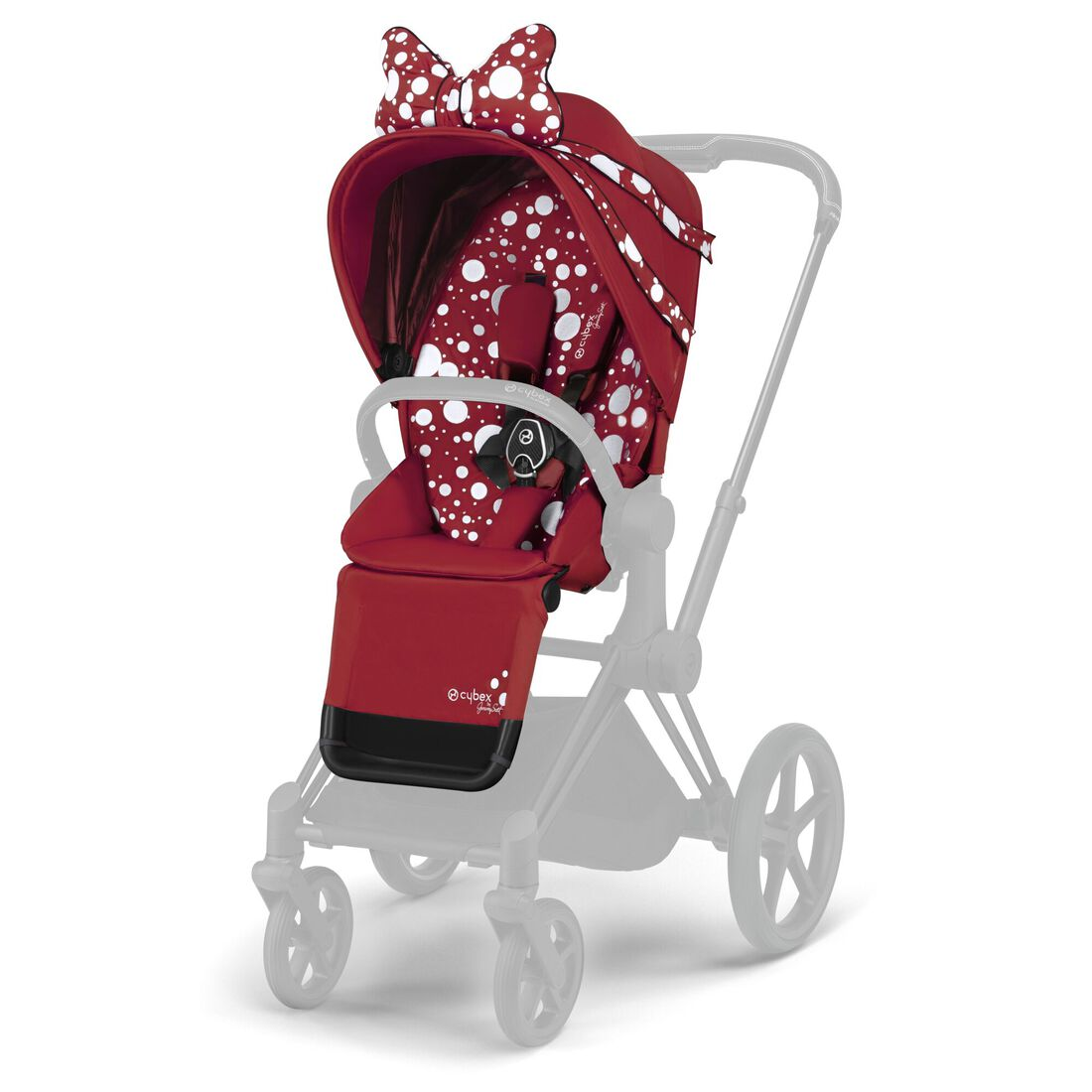 CYBEX Priam Seat Pack - Petticoat Red in Petticoat Red large image number 1
