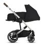 CYBEX Balios S Lux - Deep Black (Silver Frame) in Deep Black (Silver Frame) large image number 4 Small
