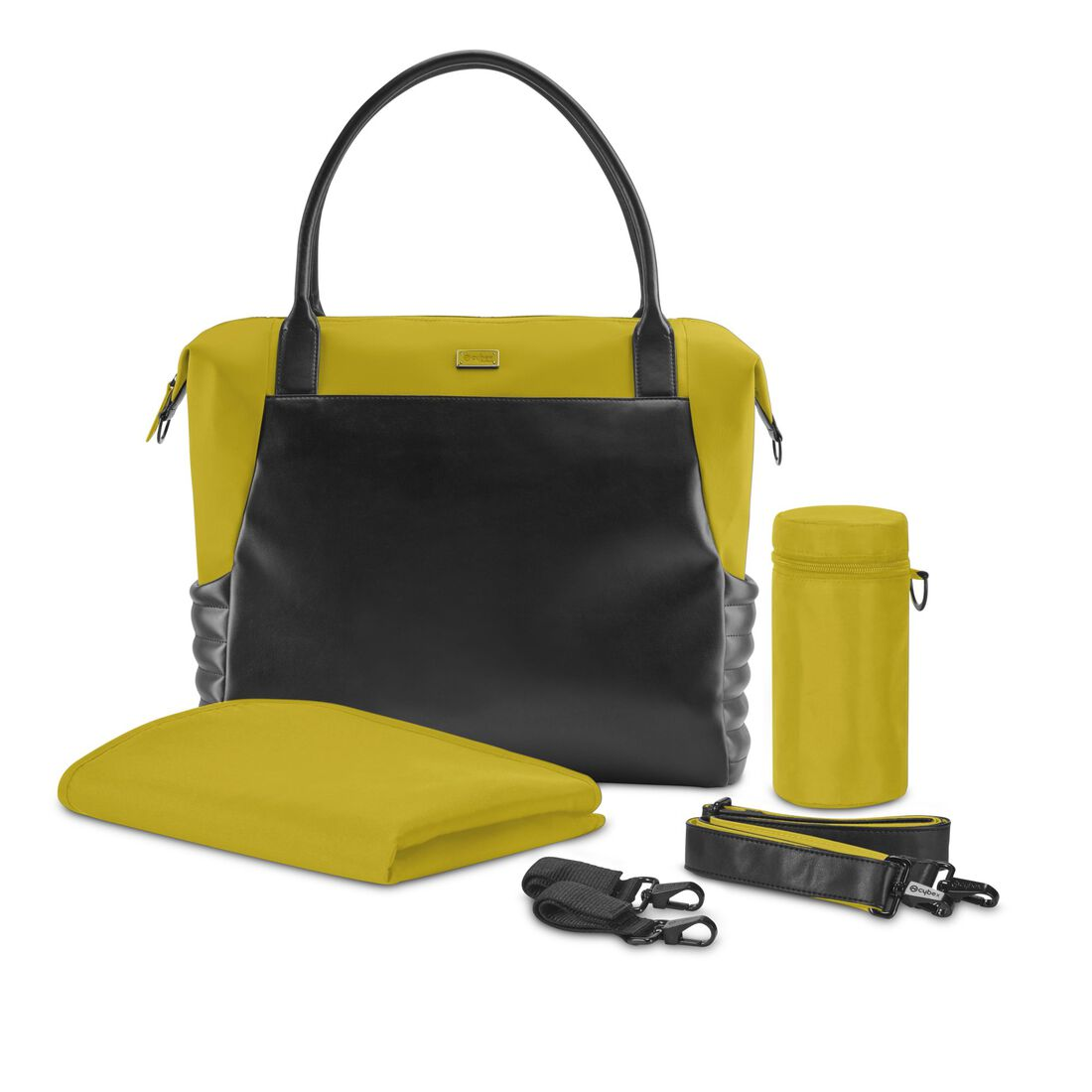 CYBEX Priam Changing Bag - Mustard Yellow in Mustard Yellow large image number 2