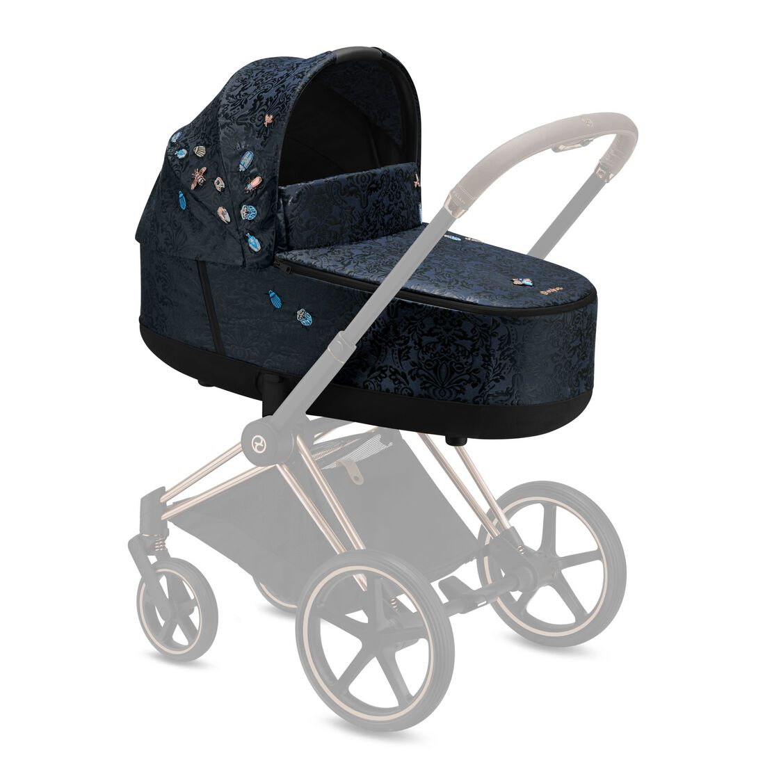 CYBEX Priam Lux Carry Cot - Jewels of Nature in Jewels of Nature large image number 4