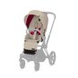 CYBEX Priam Seat Pack - Ferrari Silver Grey in Ferrari Silver Grey large image number 1 Small