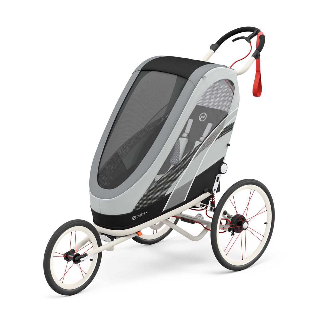 CYBEX Zeno Seat Pack - Medal Grey in Medal Grey large image number 2