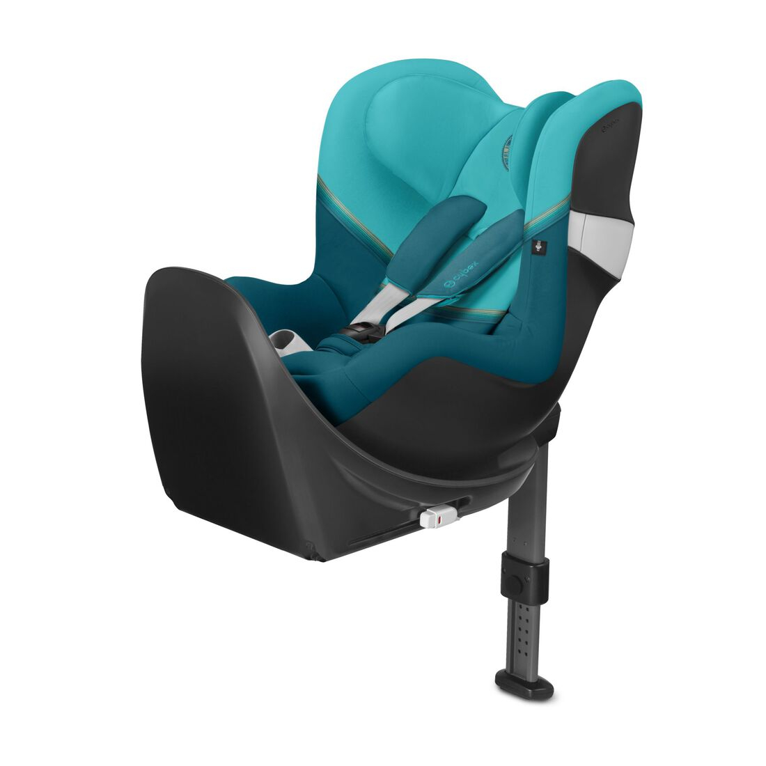 CYBEX Sirona M2 i-Size and Base M - River Blue in River Blue large image number 1
