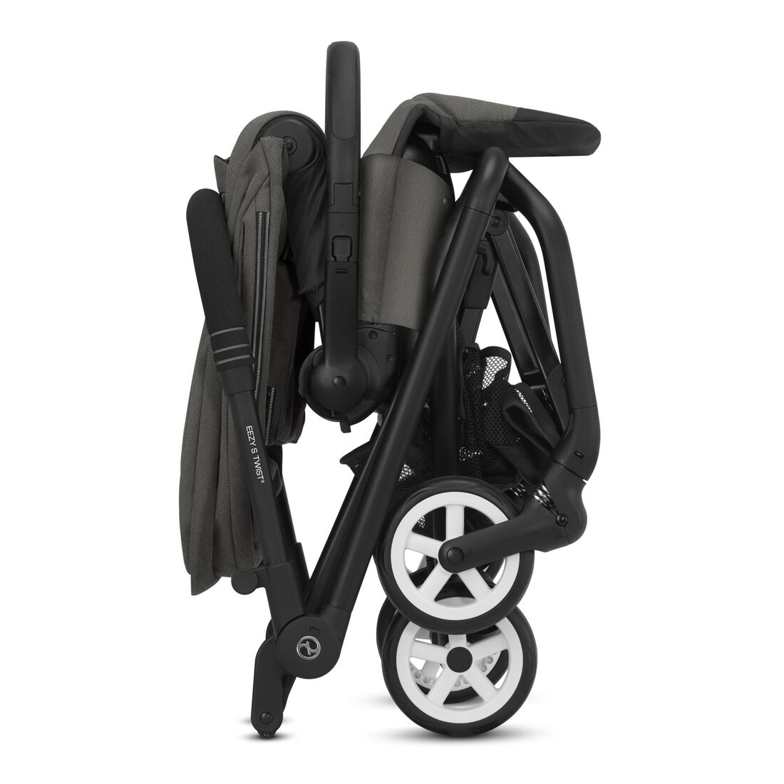 CYBEX Eezy S Twist 2 - Soho Grey (Black Frame) in Soho Grey (Black Frame) large image number 4