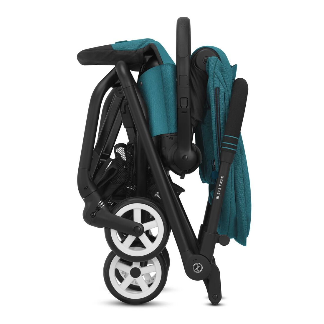 CYBEX Eezy S Twist 2 - River Blue (Schwarzer Rahmen) in River Blue (Black Frame) large Bild 5