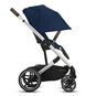 CYBEX Balios S Lux - Navy Blue (Silver Frame) in Navy Blue (Silver Frame) large image number 5 Small