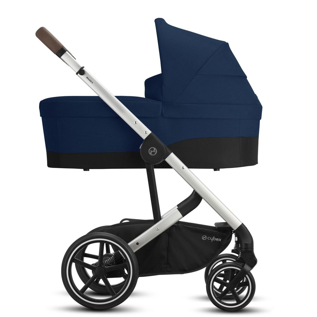 CYBEX Balios S Lux - Navy Blue (Silberner Rahmen) in Navy Blue (Silver Frame) large