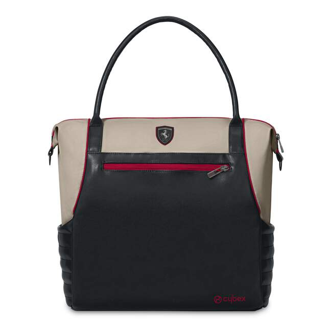 Changing Bag - Ferrari Silver Grey