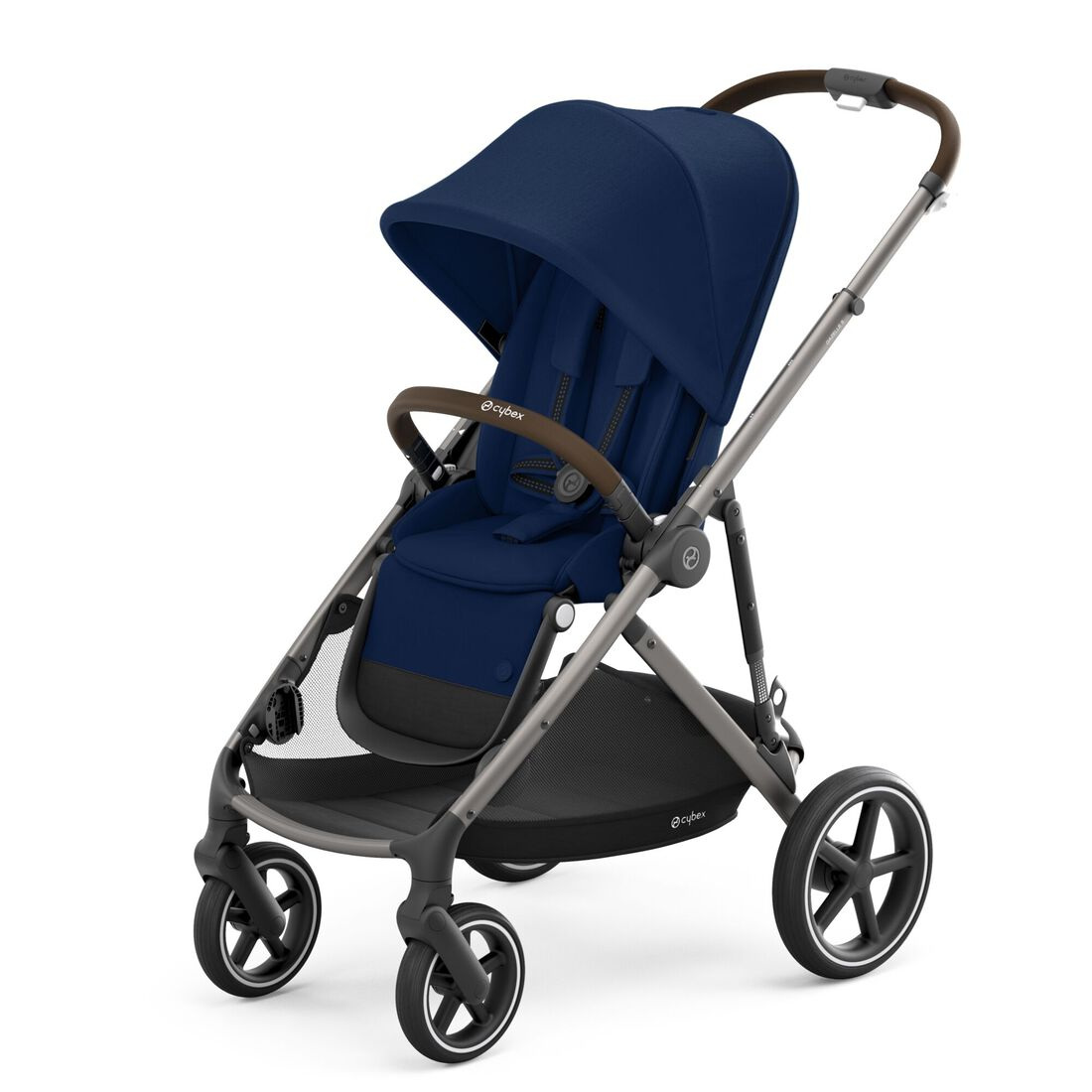 CYBEX Gazelle S - Navy Blue (Taupe Frame) in Navy Blue (Taupe Frame) large image number 4