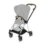 CYBEX Mios Rahmen - Chrome With Brown Details in Chrome With Brown Details large Bild 2 Klein
