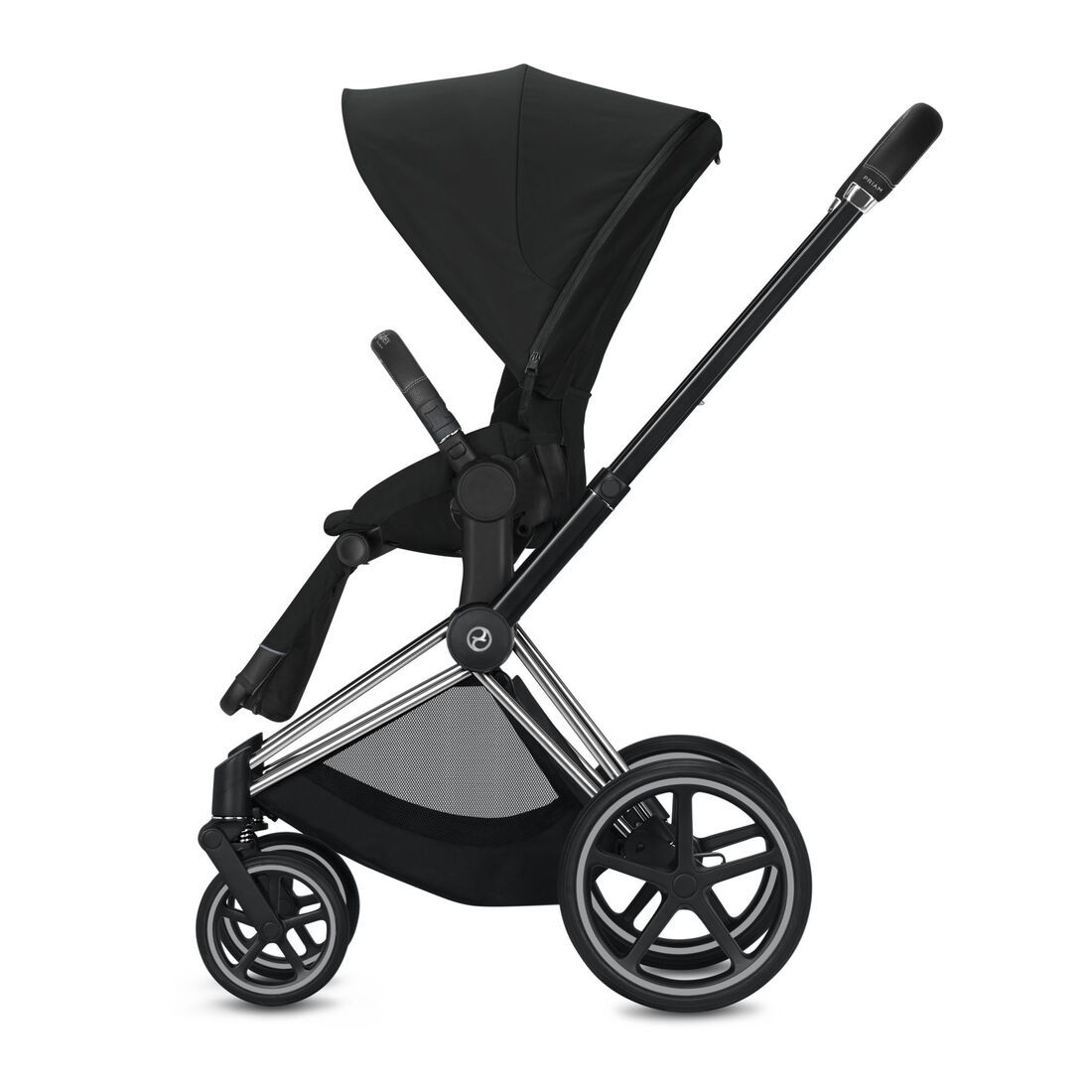 CYBEX Priam Frame - Chrome With Black Details in Chrome With Black Details large image number 3