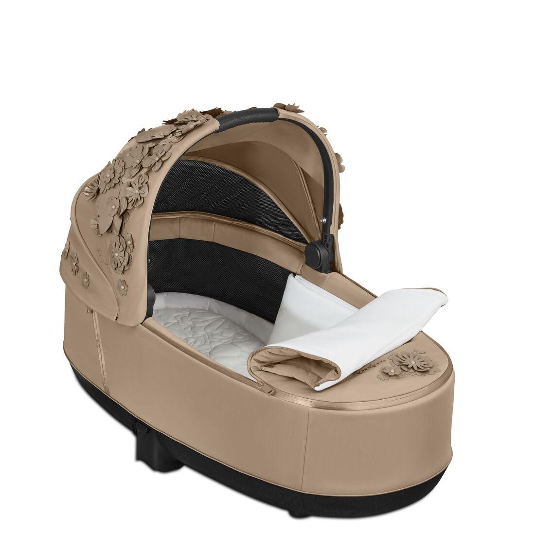 CYBEX Priam Lux Carry Cot - Nude Beige in Nude Beige large image number 3