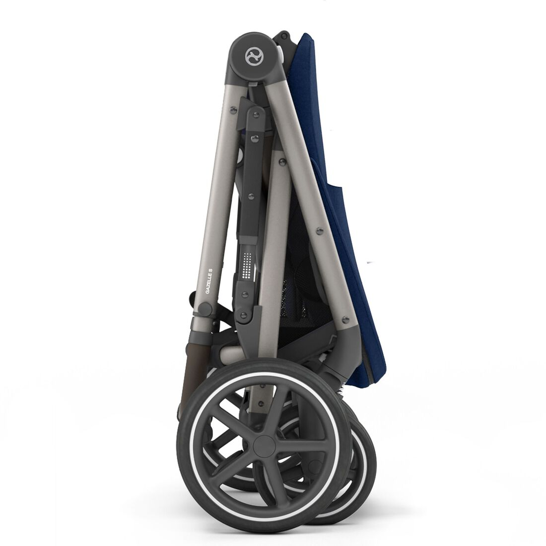 CYBEX Gazelle S - Navy Blue (Taupe Frame) in Navy Blue (Taupe Frame) large image number 9