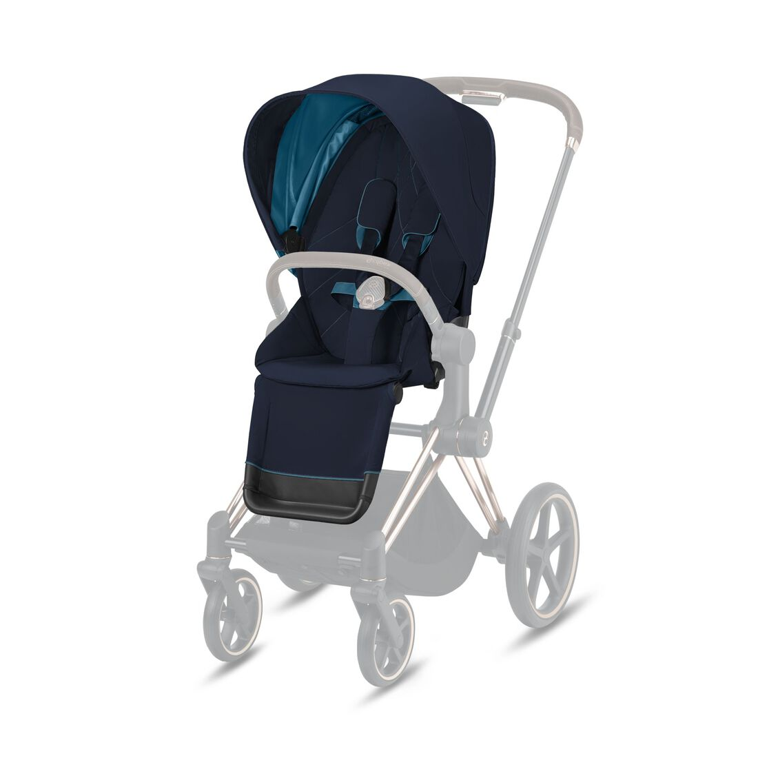 CYBEX Priam Seat Pack - Nautical Blue in Nautical Blue large image number 1