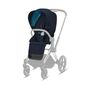 CYBEX Priam Seat Pack - Nautical Blue in Nautical Blue large image number 1 Small