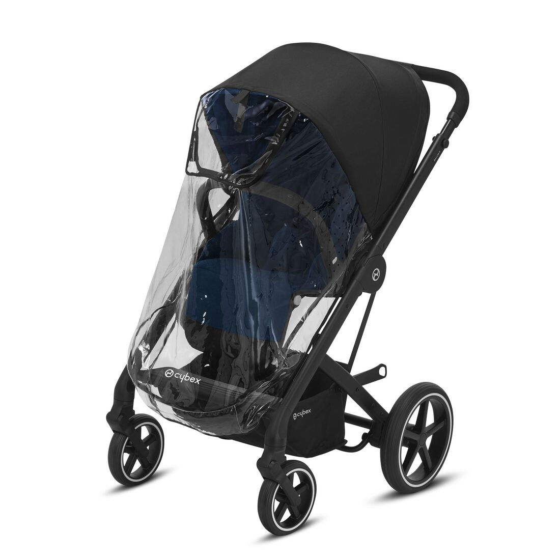 CYBEX Rain Cover Balios S - Transparent in Transparent large image number 1