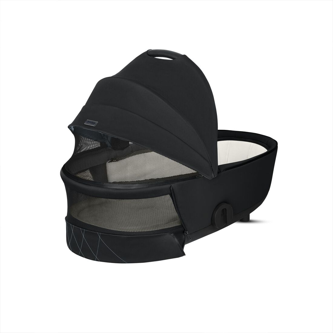 CYBEX Mios Lux Carry Cot - Deep Black in Deep Black large image number 4