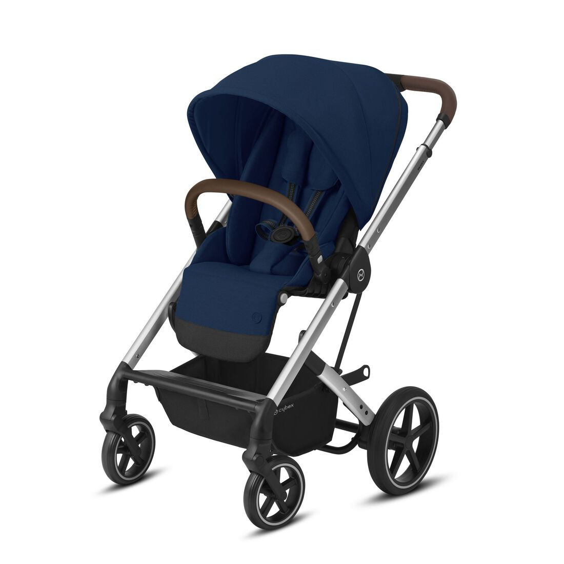 CYBEX Balios S Lux - Navy Blue (Silver Frame) in Navy Blue (Silver Frame) large